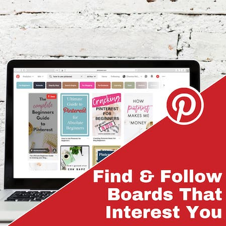 Find and Follow Boards the Interest You on Pinterest