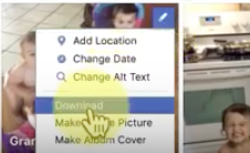 how to download a photo from facebook,