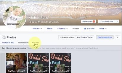 download facebook album