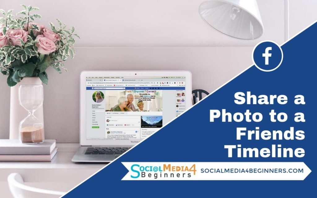How to share a photo with a friend on facebook