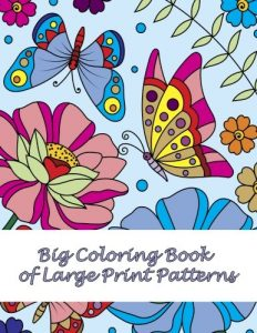 Coloring Book with Large Print