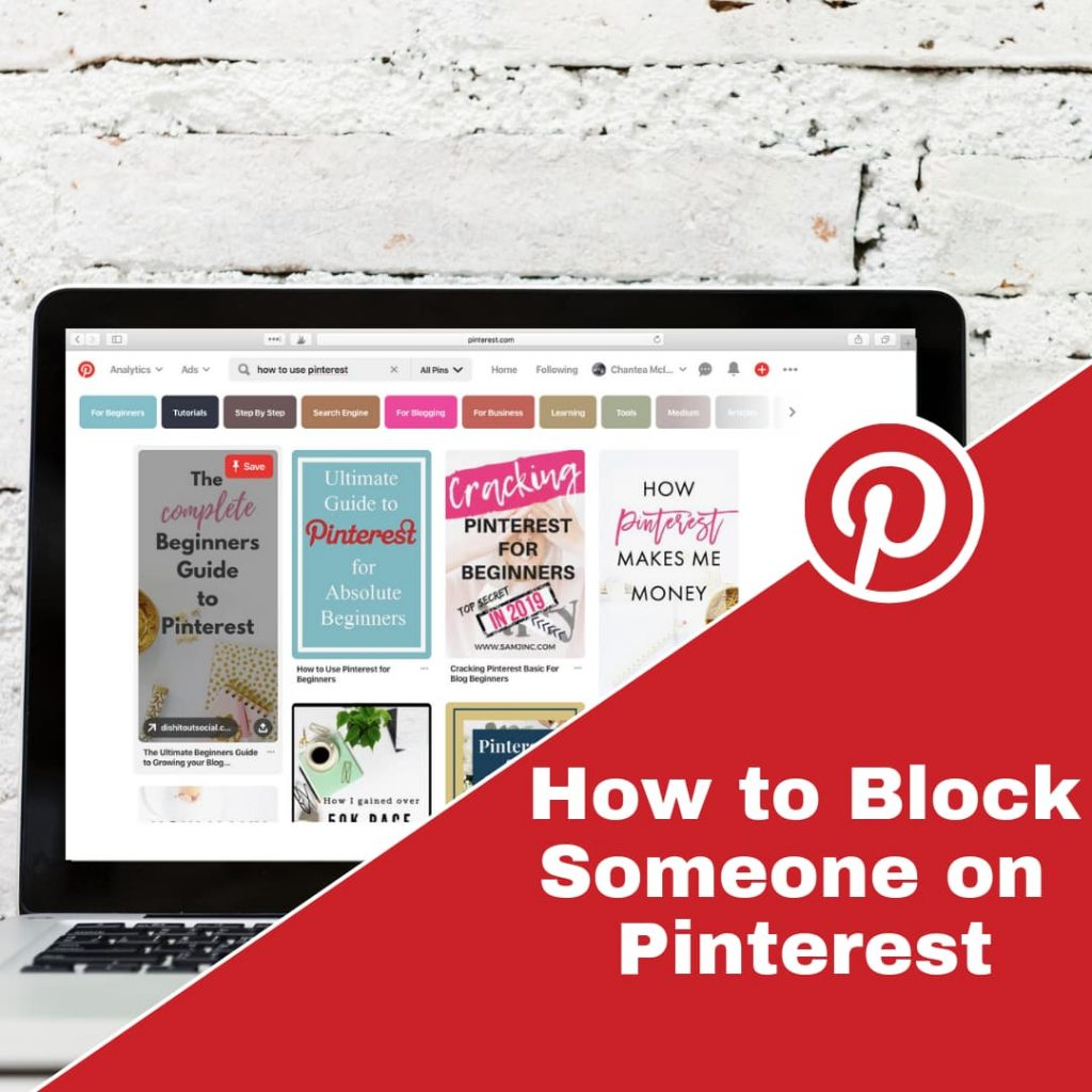 How to Block Someone on Pinterest