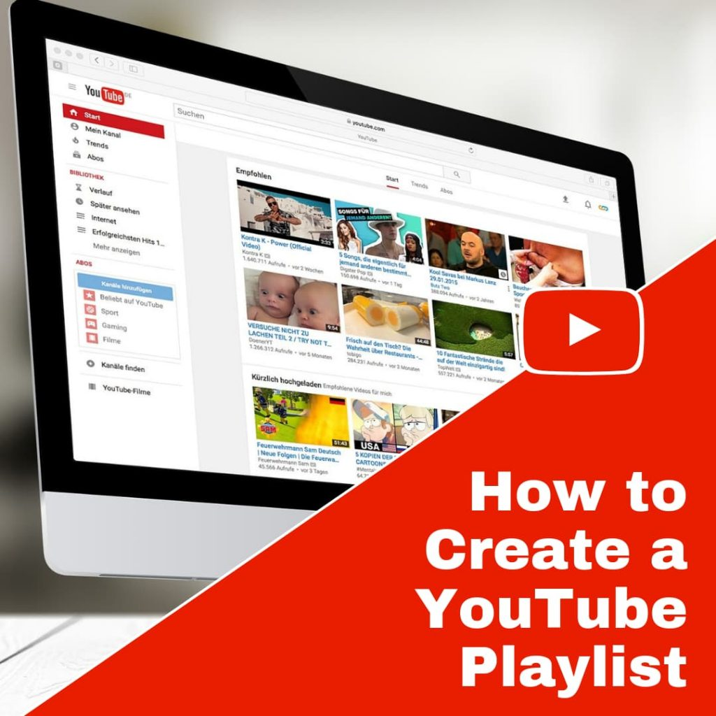 Creating a YouTube Playlist