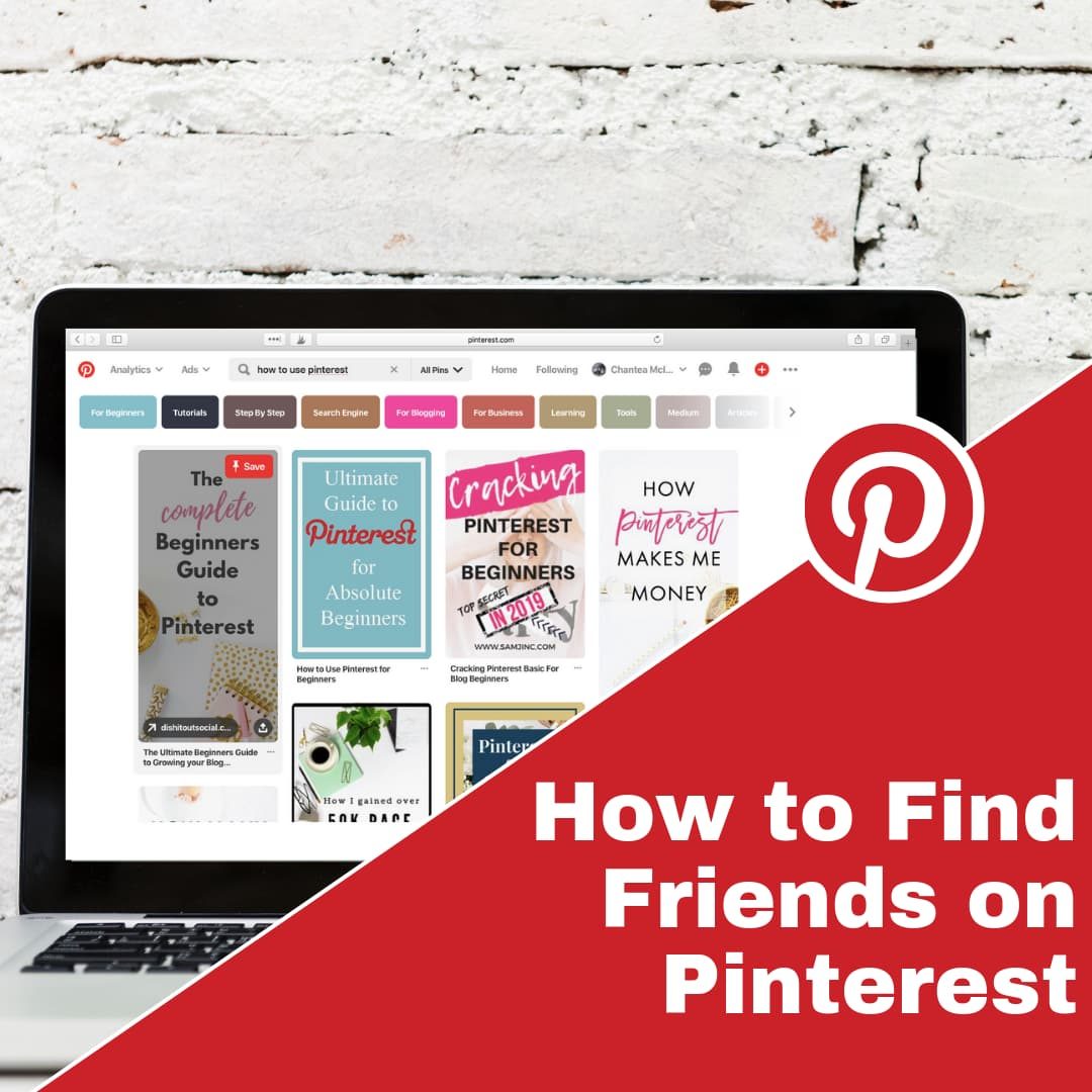 How to find friends on Pinterest