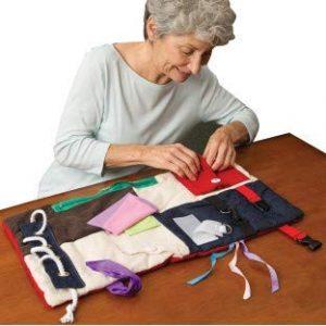 Memory Loss Fidget Blanket