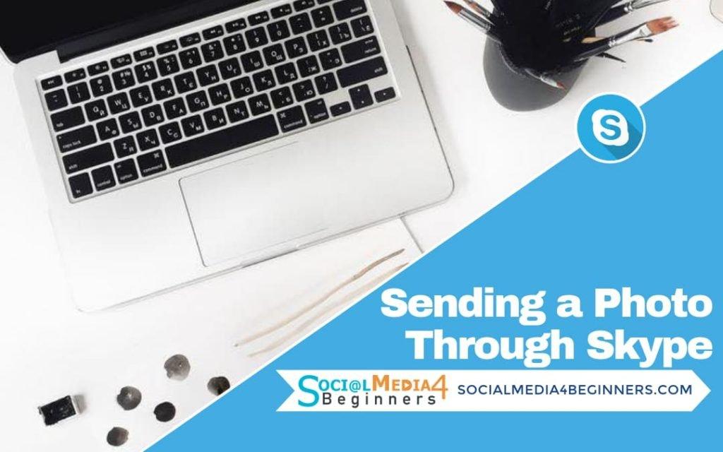How to send a photo through Skype