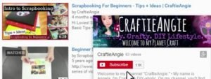 Subscribing to YouTube Channels