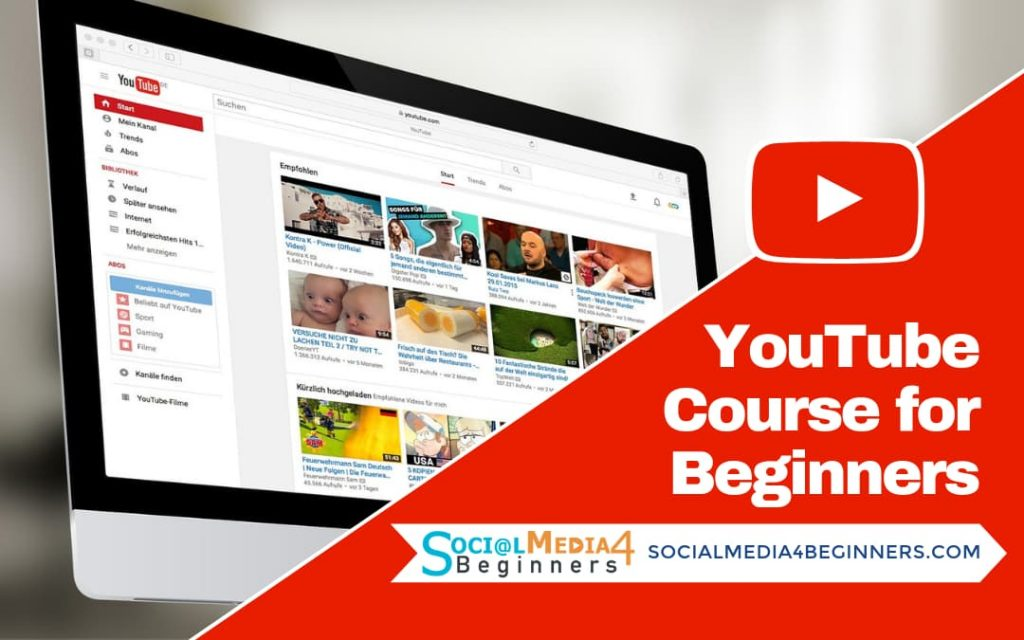 YouTube Course for Beginners