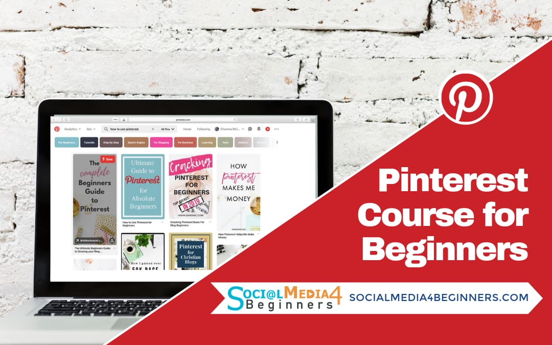 Pinterest course for Beginners
