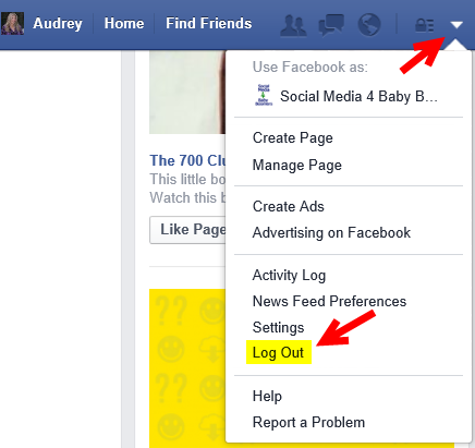 log-out-facebook